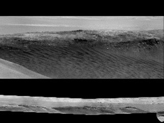 "This mosaic shows various scenes captured from a location called ""Housedon Hill"" by the ChemCam instrument aboard NASA's Curiosity Mars rover between September 9 and October 23, 2020 (Sols 2878 and 2921)."
