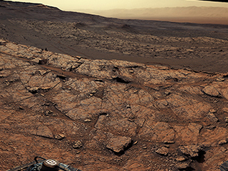 A stunning panorama of Mars
