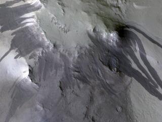 Blast Waves and Dusty Landslides
