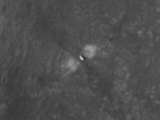 Close-Up of Perseverance on the Martian Surface