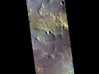 Daedalia Planum - False Color