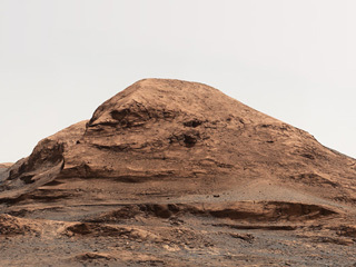 Rafael Navarro Mountain on Mars