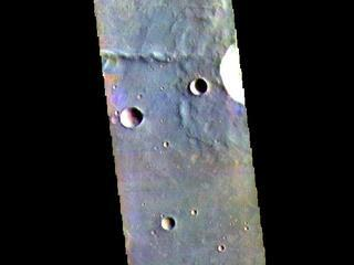 Thaumasia Planum - False Color