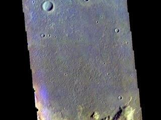 This image from NASAs Mars Odyssey shows part of Terra Sirenum.