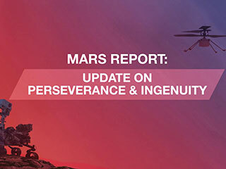 As NASA's Ingenuity Mars helicopter makes progress towards its first test flight, the Mars 2020 Perseverance rover has begun preparing to test the MOXIE technology demonstration that converts Martian air into oxygen, and investigating some nearby rocks with its science instruments.
