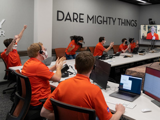 Ingenuity's Team Reacts to Data Showing It Completed Its First Flight