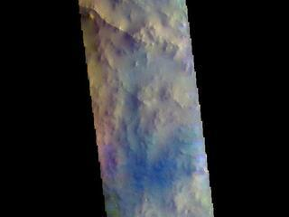 Arabia Terra - False Color