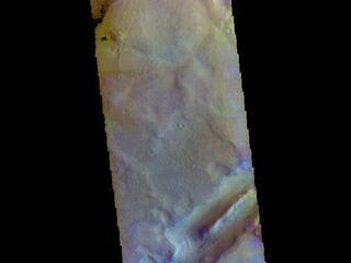 Nili Fossae - False Color