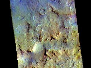 Terra Sabaea - False Color
