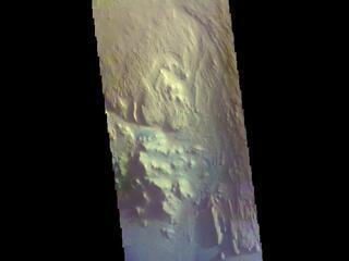 Gale Crater - False Color