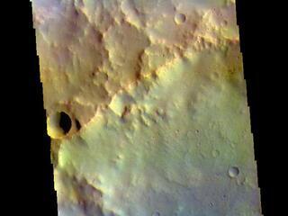 Arabia Terra Craters - False Color