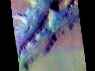 Nili Fossae - False Color