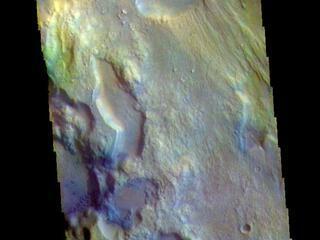 Ares Vallis - False Color