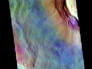 Utopia Planitia - False Color