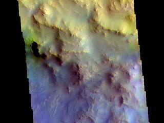 Hargraves Crater - False Color