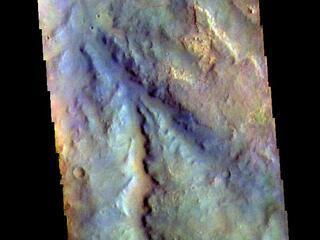 Meridiani Planum - False Color