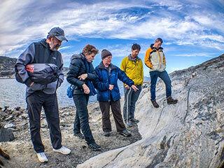 Abigail Allwood Doing Fieldwork in Greenland