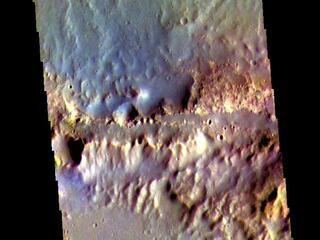 Oyama Crater Rim - False Color