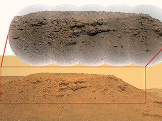 Two Views of Delta Scarp