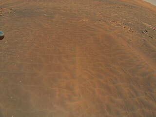 Ingenuity Spots Dune Fields During Ninth Flight