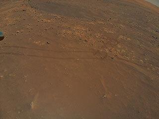 Ingenuity Spots Rover Tracks During Ninth Flight