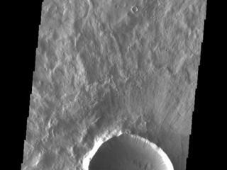 Grooved Crater Ejecta