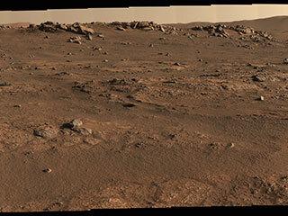 Perseverance's Office on Mars