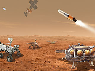 View image for Mars Sample Return Campaign Artist's Concept