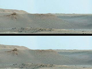 View image for The Scarps of Jezero Crater's Delta