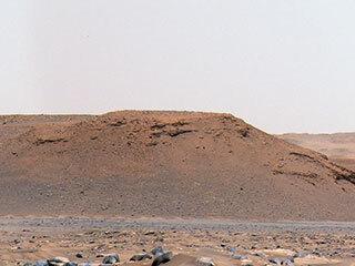 View image for Jezero Crater's 'Scarp A'