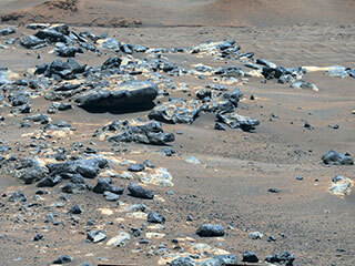 View image for Perseverance Rover's View of 'South Séítah'