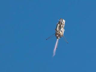 Test of Lander Vision System for Mars 2020