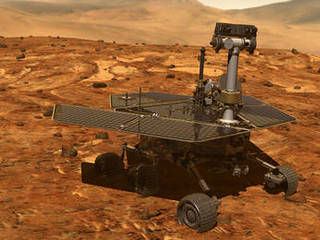 Mars Exploration Rovers: Rover approaching a point of ...